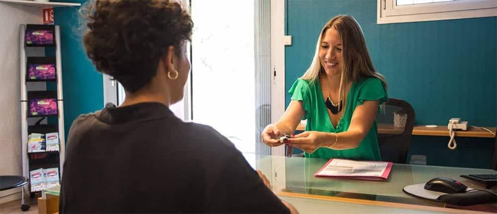 Un accueil personnalisé à votre service et à votre écoute.